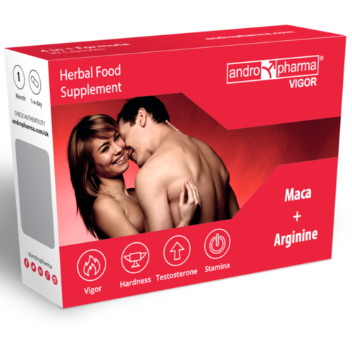 Andropharma Vigor | herbal and nutritional libido boosting pills
